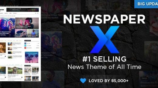 报纸v10.2破解版下载– WordPress新闻模板 WordPress主题NEWSPAPER X博客缩略图