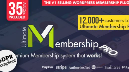 Ultimate Membership Pro-WordPress会员插件 v8.5缩略图