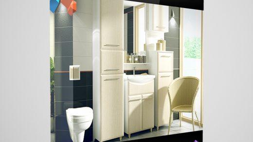 CGAxis模型第2卷包含41个高度详细的浴室家具3D模型缩略图