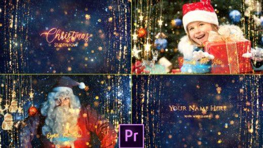 华丽圣诞节片头包装AE模板-圣诞节幻灯片-AFTER EFFECTS&PREMIERE PRO缩略图