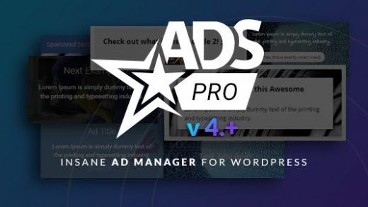 Ads Pro v4.3.2-WordPress的广告管理 WordPress插件缩略图