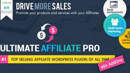 Ultimate Affiliate Pro v5.6.1WordPress插件 WordPress会员计划缩略图