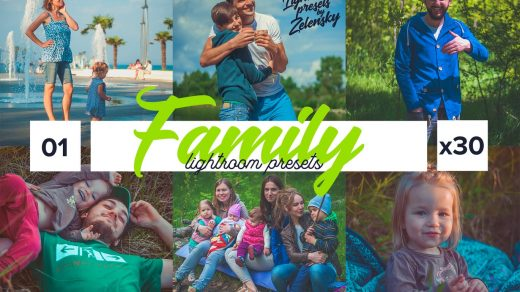 Zelensky的家庭Lightroom预设Family Lightroom Presets by Zelensky缩略图