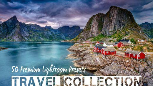 风景摄影师以及旅行博客的必备之选PRO景观和旅行Lightroom预设PRO Landscape and Travel缩略图