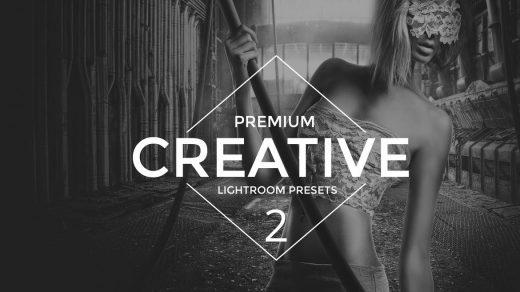 Creative 2 Lightroom预设效果是专业的照片修饰适合摄影师和图形设计师缩略图