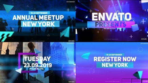 AE模板-活动开幕商业会议企业事件会议开瓶器介绍促销缩略图