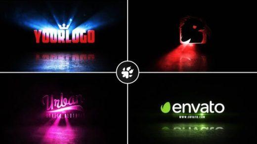 AE模板-电影光线徽标v2Cinematic Light Rays Logo v2缩略图