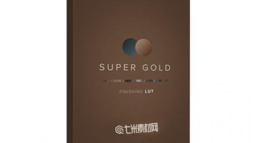 镜头变形-超级金饰LUT 深红色和金色饱和度柔和缩略图
