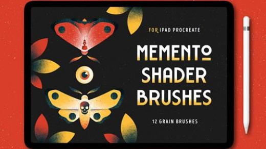 Memento Shader Procreate笔刷-16粒笔刷缩略图