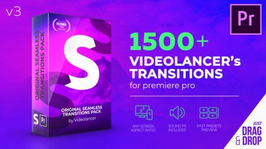 热!Premiere Pro V3的1500无缝转换– Videohive 22125468缩略图