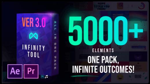 无限工具-视频创作者V.3的最大包装The Biggest Pack for Video Creators缩略图