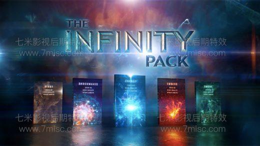 4K视频素材-431个科幻魔法能量冲击波星火粒子粉尘烟雾特效合成动画素材 Infinity VFX缩略图