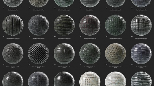 物质来源11 – 32资产–程式化包装3D纹理缩略图