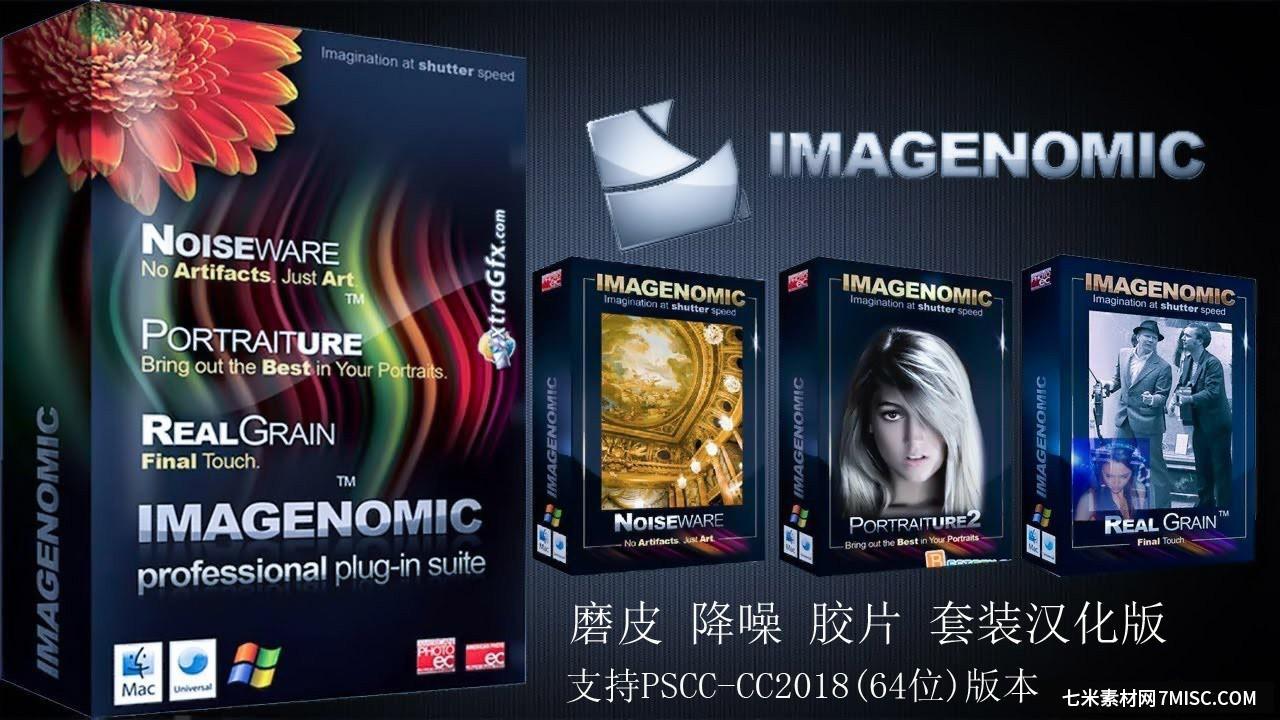 PS磨皮降噪插件套装 Imagenomic Professional Plugin 1706汉化版 WIN64 ,效果图1
