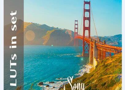 LUT预设,索尼(Sony)视频调色LUT预设 Sony LUTs ,效果图 LUT预设下载