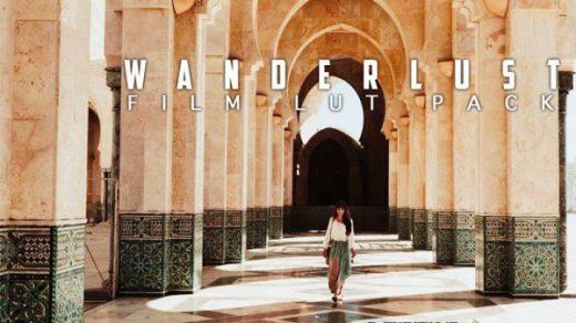 LUT预设,旅拍视频调色电影胶片LUT预设 Film LUT for Video | Wanderlust ,效果图 LUT预设下载
