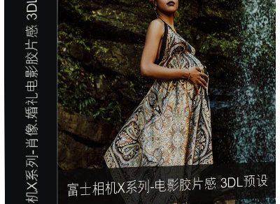 富士相机X系列-肖像.婚礼电影胶片感 3DLUTs预设缩略图