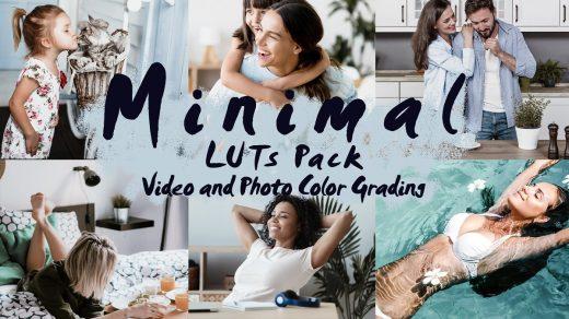 LUT预设,MINIMAL-用于视频和照片色彩分级的LUT Pack ,效果图 LUT预设下载