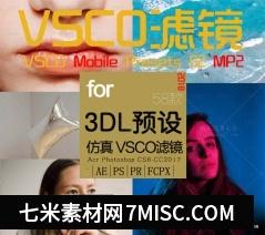 VSCO全滤镜转LUTs预设3D LUTs Mobile MP2人像日系婚礼胶片LUTs预设缩略图