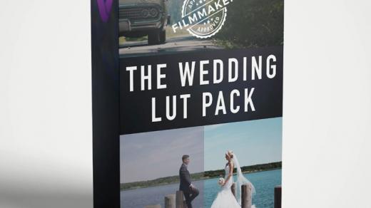 LUT预设,婚礼视频调色13组LUTs预设文件还带有实用光效视频素材 ,效果图 LUT预设下载