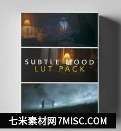 50组弱光环境微妙情绪故事视频调色LUT预设 Subtle Mood LUTs缩略图