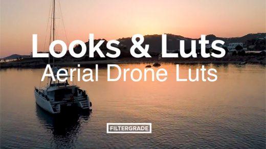 Looks&Luts无人摄像机航拍专用电影视频调色LUTs缩略图