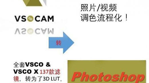VSCO CAM 3D LUT预设-手机版VSCO转3D LUT预设 最新186个VSCO CAM预设缩略图
