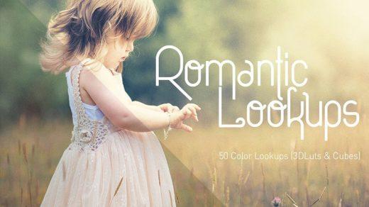 50组唯美浪漫LUTs电影风格调色预设 50 Romantic Lookups缩略图