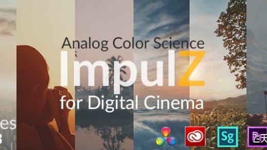 达芬奇专业电影胶片LUT调色预设ImpulZ Ultimate for Vision Color缩略图