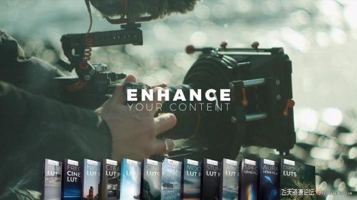 LUT预设,13套时尚大气电影风景人物运动航拍季节环境视频LUTs预设 ,效果图 LUT预设下载
