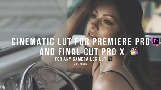 LUT预设,松下GH5索尼A7III佳能尼康电影视频调色LUT预设-5 CINEMATIC LUT ,效果图 LUT预设下载