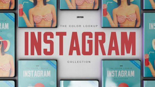 Instagram 效果 Ins风格 3D LUTs 预设合集 Instagram LUT Collection缩略图