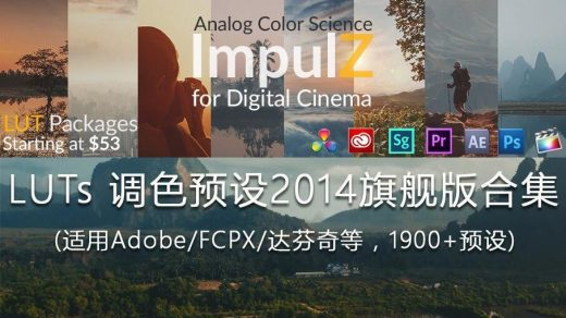 影视调色预设[VisionColor ImpulZ LUTs Ultimate for Digital Cinema_Win Mac缩略图