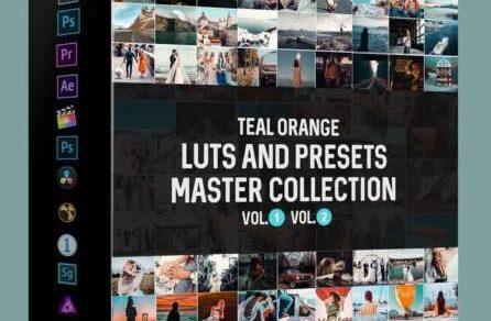 LUT预设,Riyazmn-好莱坞电影级视频MV蓝绿LUTS滤镜大师收藏版-AE/PR/FCPX/PS ,效果图 LUT预设下载