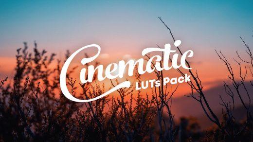 LUT预设,电影无人机MV短视频色彩分级LUT包支持AE/PR/FCPX/达芬奇/PS ,效果图 LUT预设下载