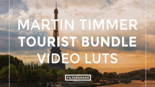 风景视频调色LUTs预设-旅行摄影师旅游调色套装LUTs预设缩略图