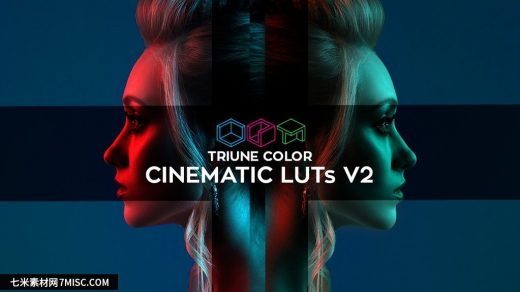 电影视频调色LUT预设Triune Color: Cinematic LUTs V2 支持Capture One+LR缩略图