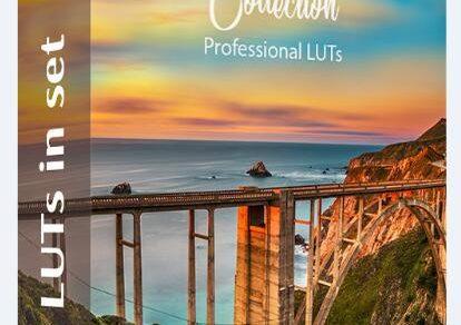 LUT预设,旅拍风光人像视频调色颜色分级LUT预设 Color Grading LUTs ,效果图 LUT预设下载