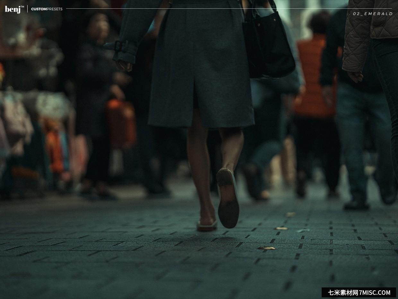 benj™-日系街拍电影胶片风格自定义LR预设 benj™ Custom Presets Lightroom预设,效果图2