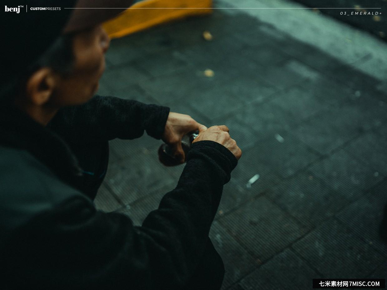 benj™-日系街拍电影胶片风格自定义LR预设 benj™ Custom Presets Lightroom预设,效果图3